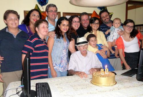 Aniversário de 80 anos de meu pai, José Alexandre Ribemboim