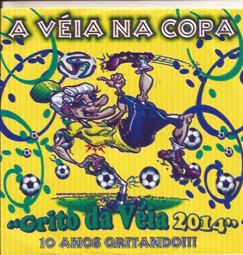 capa CD A Véia na Copa